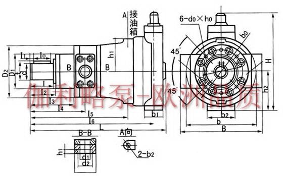 水泵两点控制电路图